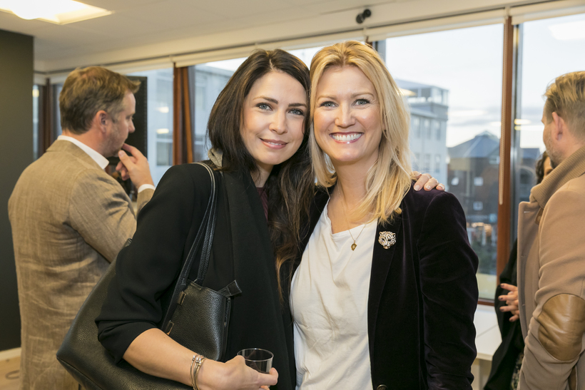 Dóra Sif Sigurðardóttir og Bergljót Þorsteinsdóttir.