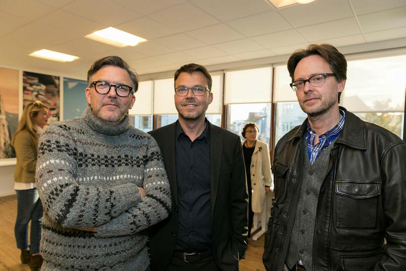 Lárus Jóhannesson, Páll Þórhallsson og Ketill Sigurjónsson.