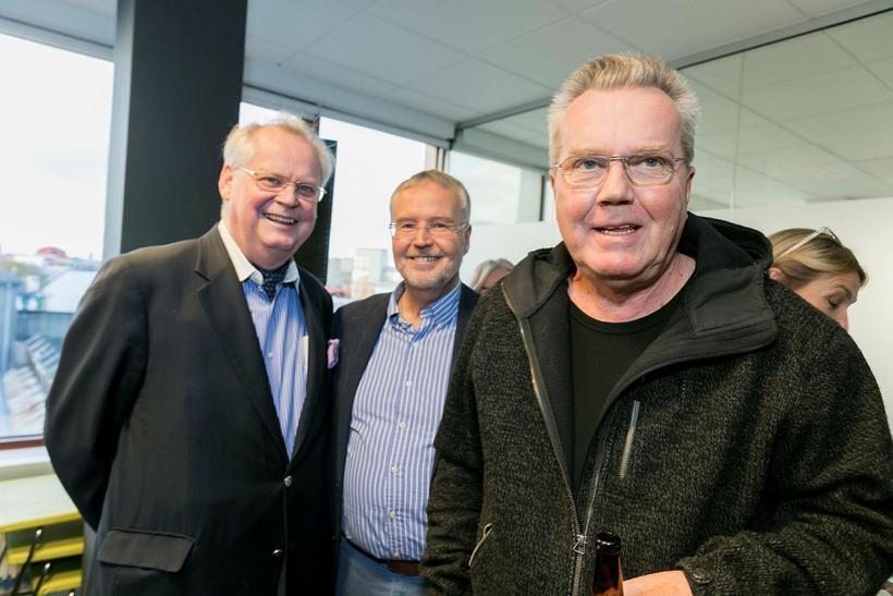 Þorsteinn Ólafsson, Þorsteinn Þorgeirsson og Eiríkur Jónsson.