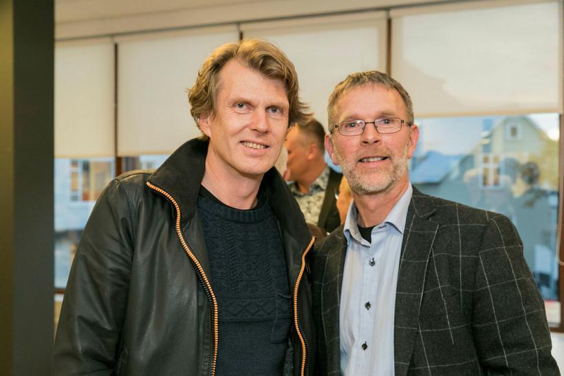Jóhann Kristjánsson og Hrafn Loftsson.