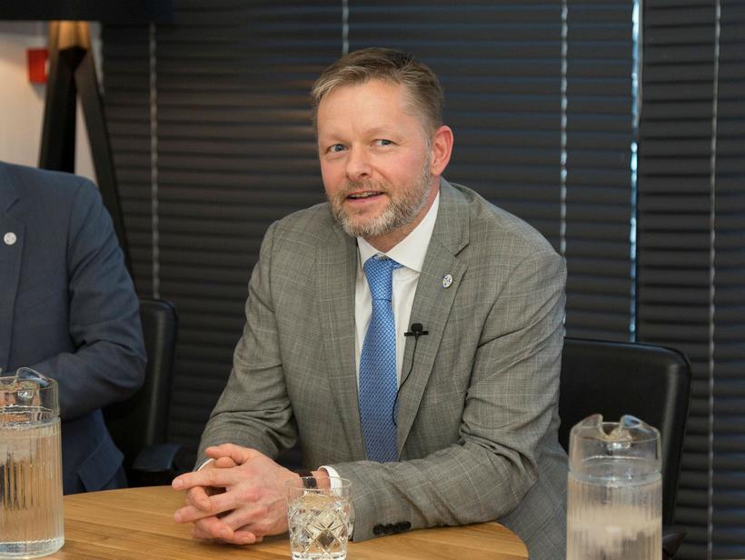 Þorsteinn Víglundsson, fráfarandi félags- og jafnréttismálaráðherra.