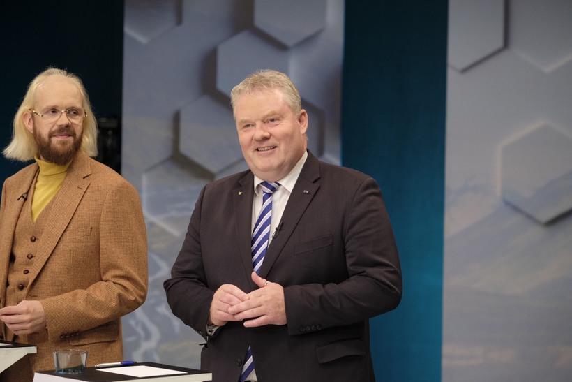 Óttarr Proppé og Sigurður Ingi Jóhannsson.