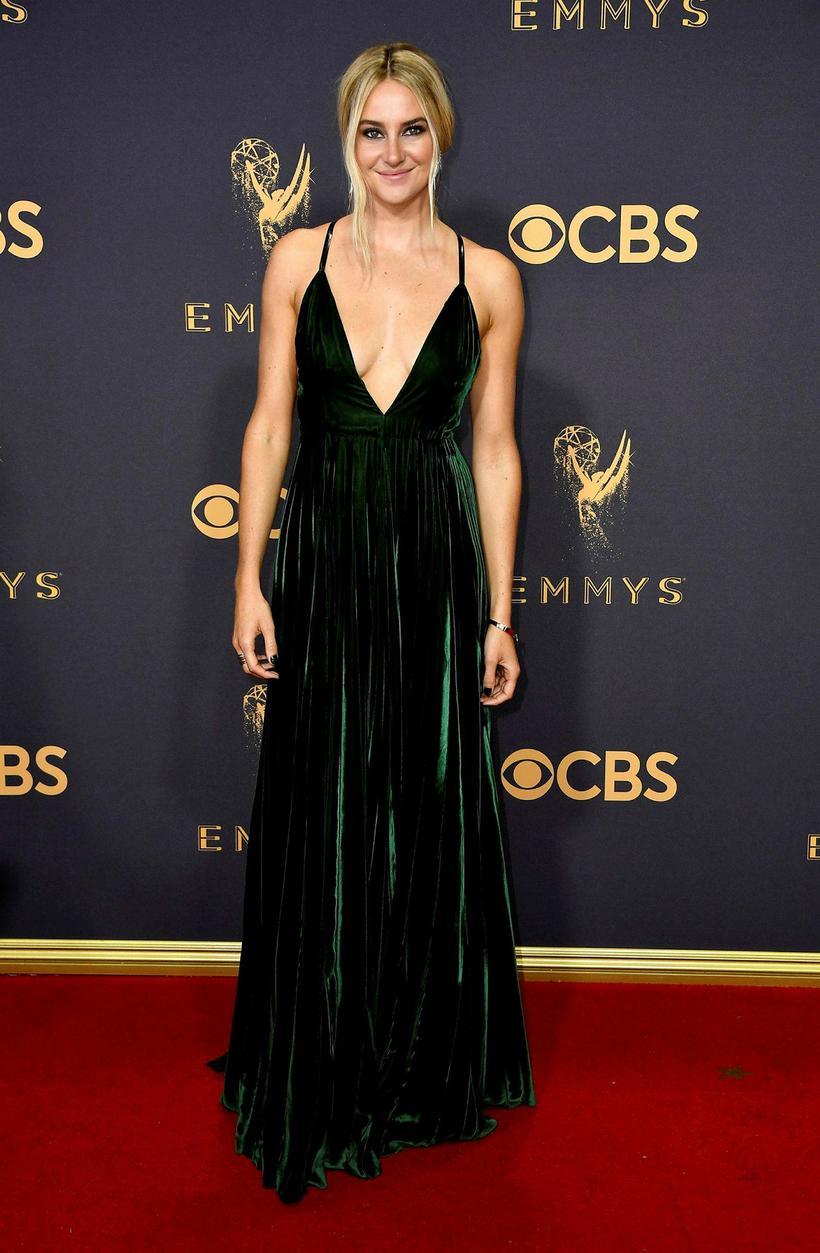 Shailene Woodley á Emmy-verðlaunahátíðinni 17. september síðastliðinn.