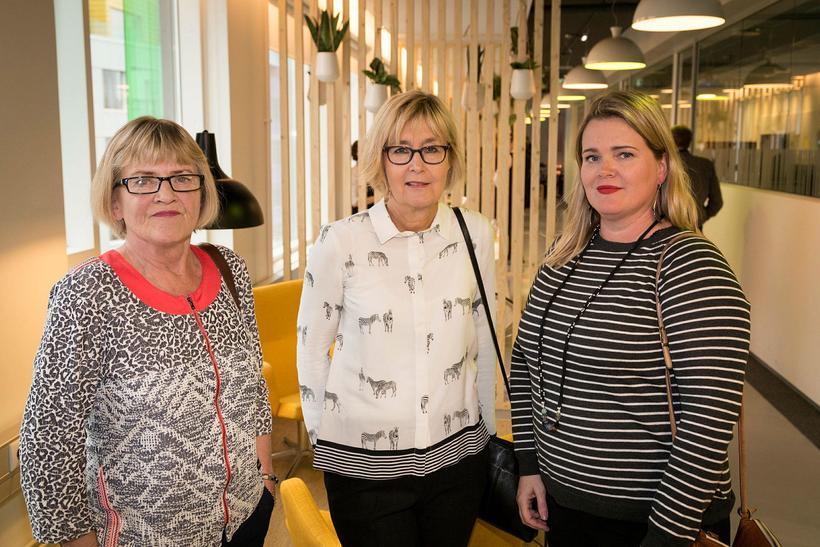 Anna Finnsdóttir, Ágústa Axelsdóttir og Gunnhildur Ólafsdóttir.