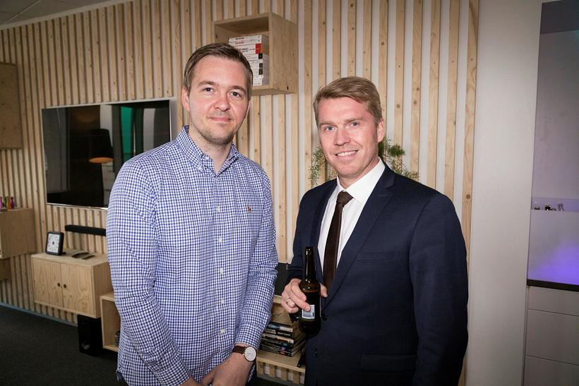 Haukur Kristinsson og Magnús Salberg.