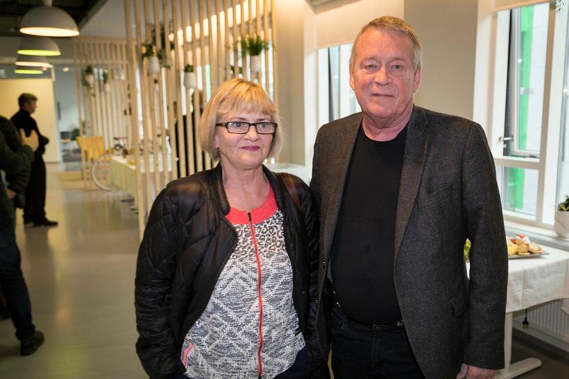 Anna Finnsdóttir og Ólafur Gunnarsson.