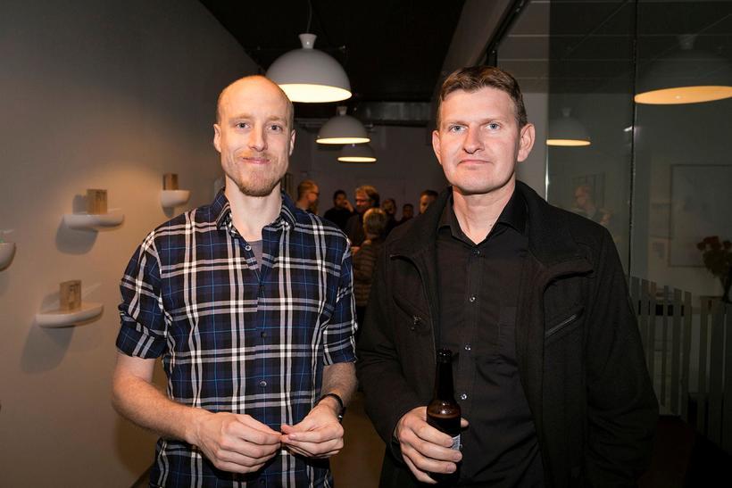 Ólafur Torfi og Óskar Ingólfsson.
