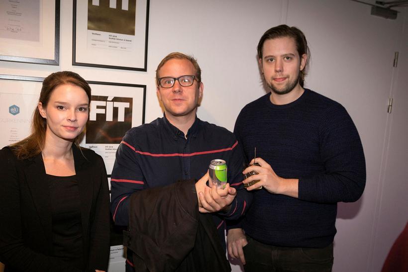 Rakel Björt, Skúli Arnlaugsson og Þorvarður Örn Einarsson.