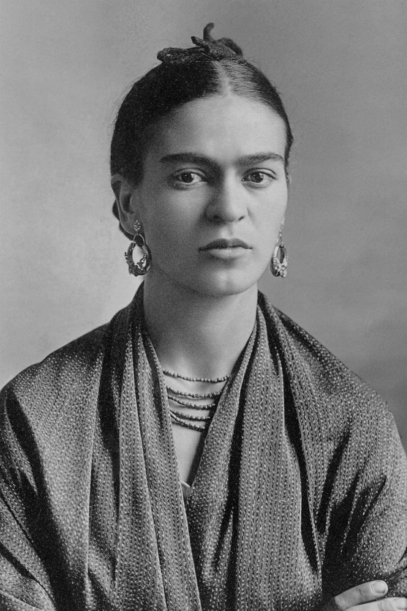 Mexíkóska listakonan Frida Kahlo. Hayek segir sögu listakonunnar Fridu Kahlo ...