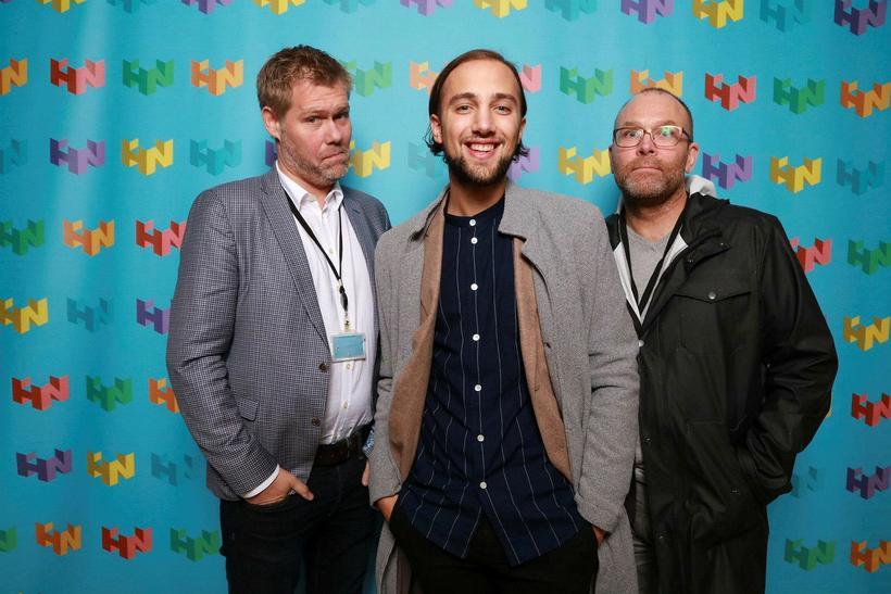 Gunnar Ingi Hansson, Alexander Kostic og Gunnar Johannsson.