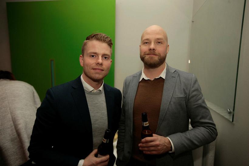 Brynjólfur Magnússon og Ásgeir Helgi Jóhannsson.