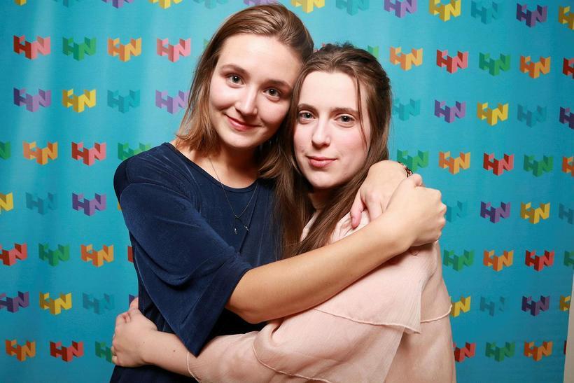 Kristrún Lárusdóttir og Sarah Lucy.