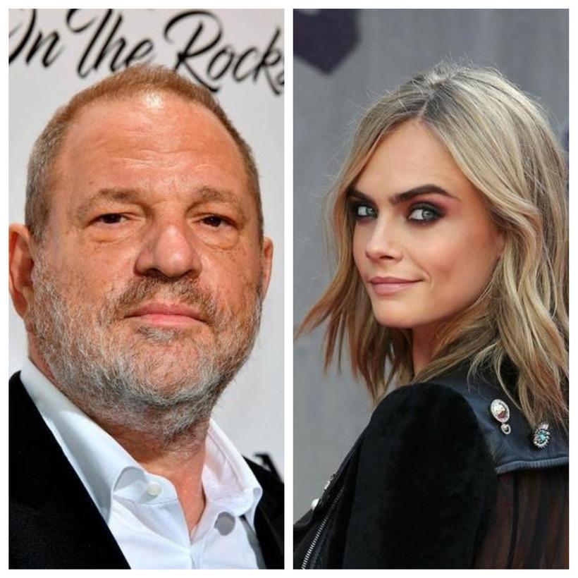 Cara Delevingne á Weinstein-sögu eins og svo margar konur í ...