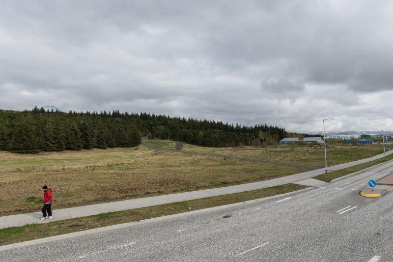 Lóð við Nauthólsveg.